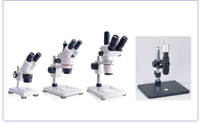 stere-omicroscope, CCD Microscope, quality control, measurement