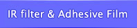 cold filter adhesive film